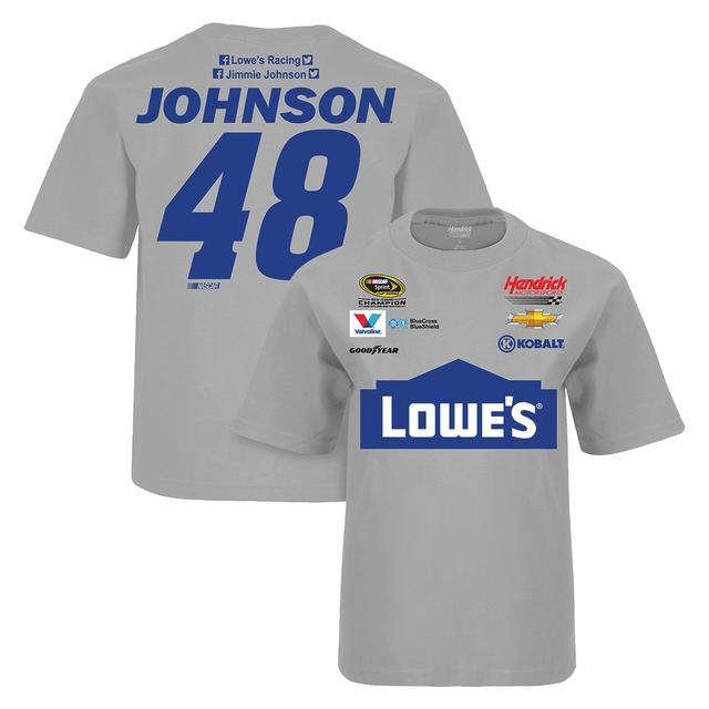 Hendrick Motorsports Jimmie Johnson #48 Adult Uniform T-Shirt