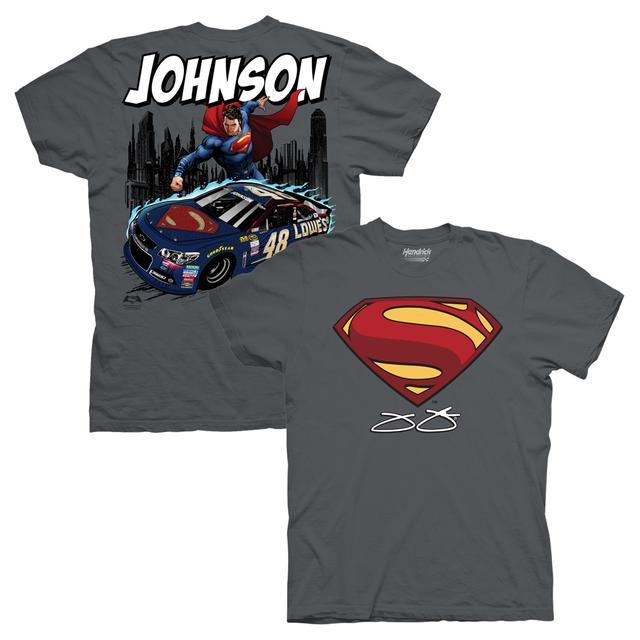 Hendrick Motorsports Jimmie Johnson #48 Superman Rescue T-Shirt