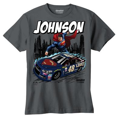 Hendrick Motorsports Jimmie Johnson #48 Youth Superman T-Shirt