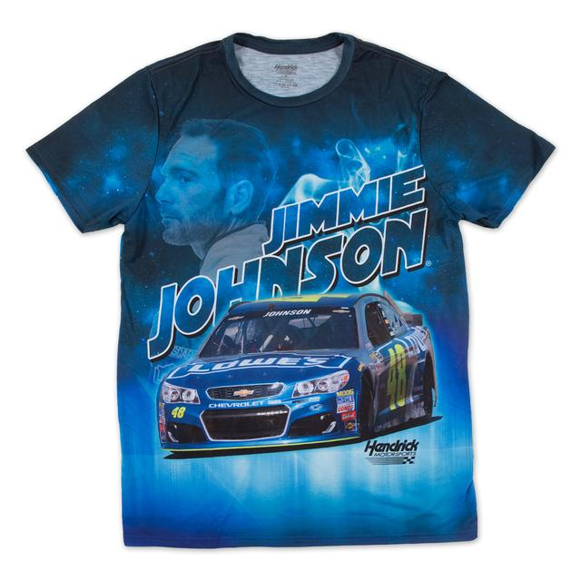 Hendrick Motorsports Jimmie Johnson #48 Turbo Sublimated T-Shirt