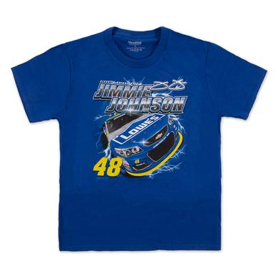 Hendrick Motorsports Jimmie Johnson #48 Zoom Youth T-Shirt