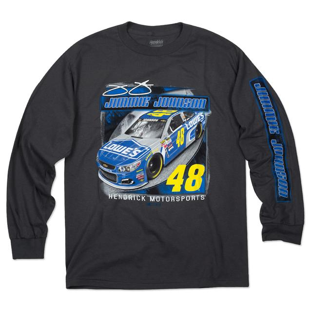 Hendrick Motorsports Jimmie Johnson #48 Velocity L/S T-Shirt