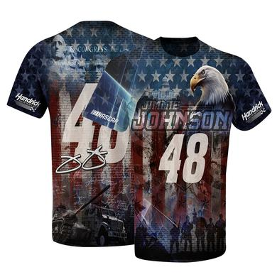 Hendrick Motorsports Jimmie Johnson #48 American Sublimated T-shirt