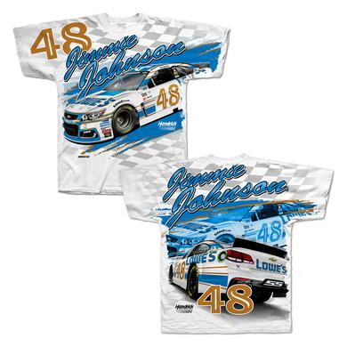 Hendrick Motorsports Jimmie Johnson 2017 #48 Darlington Total Print T-shirt