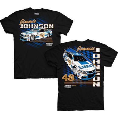 Hendrick Motorsports Jimmie Johnson 2017 #48 Darlington Graphic Car T-shirt