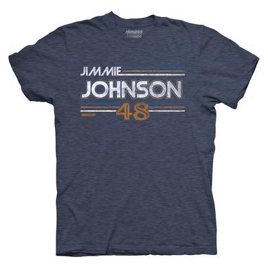 Hendrick Motorsports Jimmie Johnson 2017 #48 Darlington Vintage T-shirt