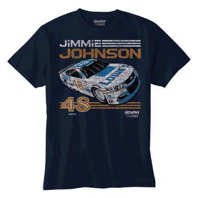 Hendrick Motorsports Jimmie Johnson 2017 #48 Darlington Youth Graphic T-shirt