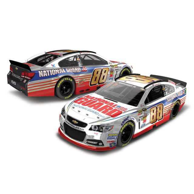 Hendrick Motorsports Dale Jr. 2014 Daytona 500 Winner 1:24 Color Chrome Diecast