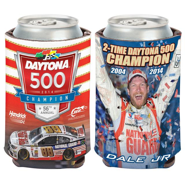 Hendrick Motorsports Dale Jr. 2014 Daytona 500 Can Cooler 12oz