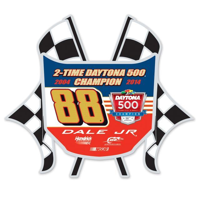 Hendrick Motorsports Dale Jr. 2014 Daytona 500 Hard Insert Pin