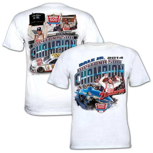 Hendrick Motorsports Dale Jr. Official 2014 Daytona 500 Winner T-shirt