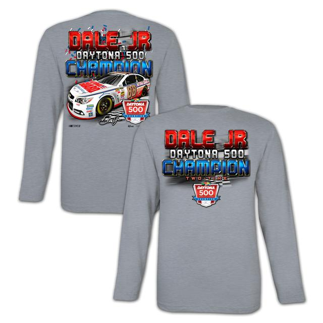 Hendrick Motorsports Dale Jr. 2014 Daytona 500 Long-sleeve T-shirt