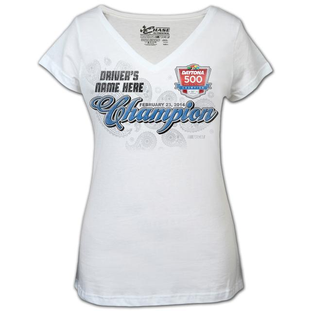 Hendrick Motorsports Dale Jr. Ladies 2014 Daytona 500 T-shirt
