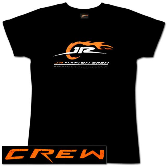Hendrick Motorsports JR Nation Crew Women's Black T-shirt