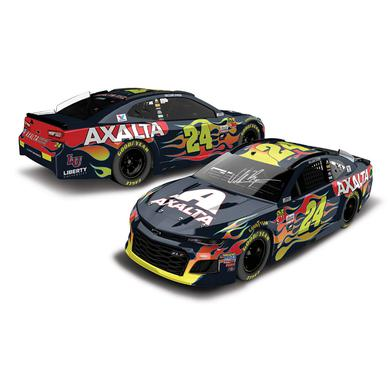 Hendrick Motorsports AUTOGRAPHED William Byron 2018 NASCAR Cup Series No. 24 Axalta HO 1:24 Die-Cast