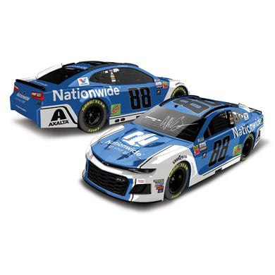 Hendrick Motorsports AUTOGRAPHED Alex Bowman 2018 NASCAR Cup Series No. 88 Nationwide ELITE 1:24 Die-Cast