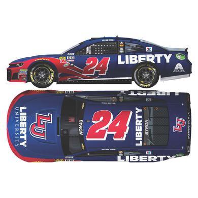 Hendrick Motorsports William Byron 2018 NASCAR Cup Series No. 24 Liberty University 1:64 Die-Cast