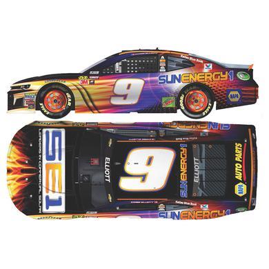 Hendrick Motorsports Chase Elliott 2018 NASCAR Cup Series No. 9 SunEnergy1 ELITE 1:24 Die-Cast