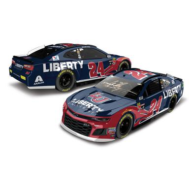 Hendrick Motorsports AUTOGRAPHED William Byron 2018 NASCAR Cup Series No. 24 Liberty University ELITE 1:24 Die-Cast