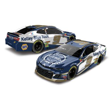 Hendrick Motorsports Chase Elliott 2018 NASCAR Cup Series No. 9 Kelley Blue Book HO 1:24 Die-Cast