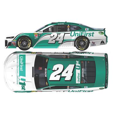 Hendrick Motorsports William Byron 2018 NASCAR Cup Series No. 24 UniFirst HO 1:24 Die-Cast