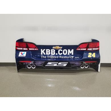 Hendrick Motorsports Chase Elliott 2017 #24 Kelley Blue Book Rear Bumper – Race Unknown