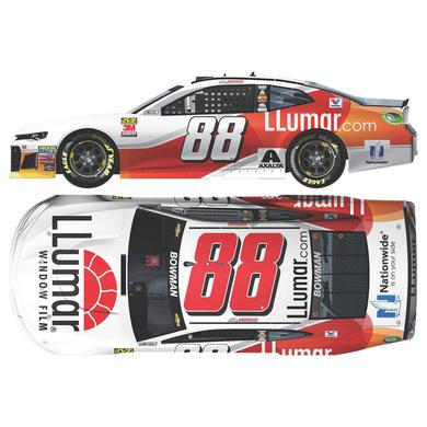 Hendrick Motorsports Alex Bowman 2018 NASCAR Cup Series No. 88 LLumar Window Film HO 1:24 Die-Cast