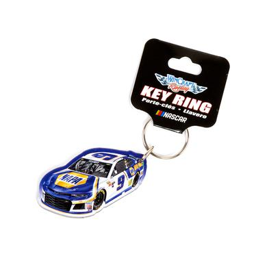 Hendrick Motorsports Chase Elliott #9 2018 NASCAR NAPA Car Acrylic Keyring