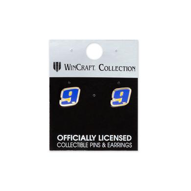 Hendrick Motorsports Chase Elliott #9 2018 NASCAR Earrings