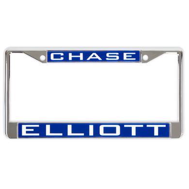 Hendrick Motorsports Chase Elliott #9 2018 NASCAR Inlaid Metal License Plate Frame
