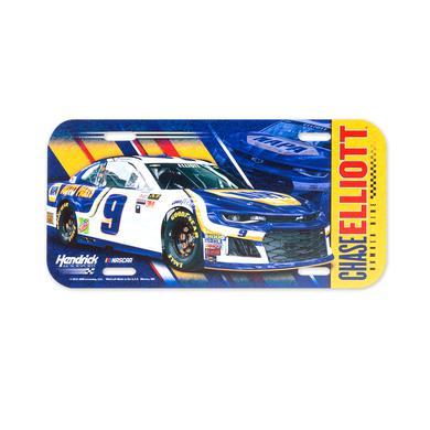 Hendrick Motorsports Chase Elliott #9 2018 NASCAR License Plate