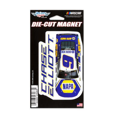 "Hendrick Motorsports Chase Elliott #9 2018 NASCAR Die-Cut Magnet - 3"" x 5.4"""