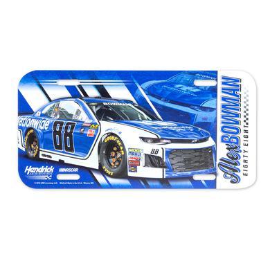 Hendrick Motorsports Alex Bowman #88 2018 NASCAR License Plate