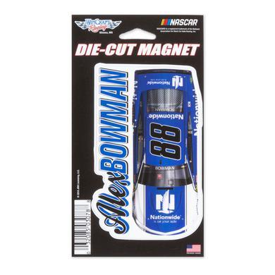 "Hendrick Motorsports Alex Bowman #88 2018 NASCAR Die-Cut Magnet - 3"" x 5.4"""