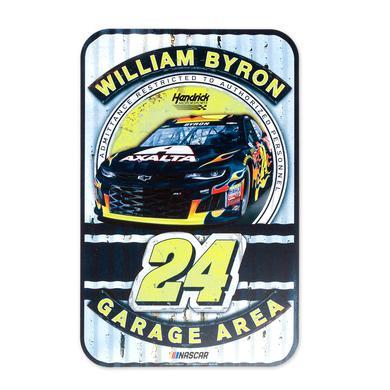 "Hendrick Motorsports William Byron #24 2018 NASCAR Plastic Sign - 11"" x 17"""