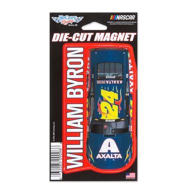 "Hendrick Motorsports William Byron #24 2018 NASCAR Die-Cut Magnet - 3"" x 5.4"""