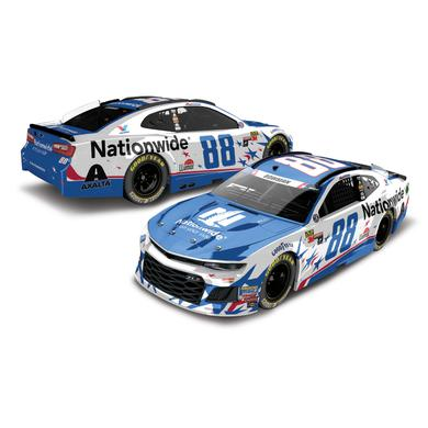 Hendrick Motorsports Alex Bowman 2018 NASCAR No. 88 Nationwide Patriotic ELITE 1:24 Die-Cast