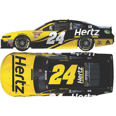 Hendrick Motorsports William Byron 2018 NASCAR No. 24 Hertz HO 1:24 Die-Cast