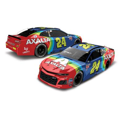 Hendrick Motorsports William Byron 2018 NASCAR No. 24 Axalta Throwback ELITE 1:24 Die-Cast