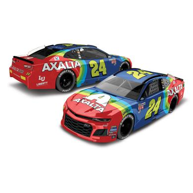 Hendrick Motorsports William Byron 2018 NASCAR No. 24 Axalta Throwback 1:64 Die-Cast