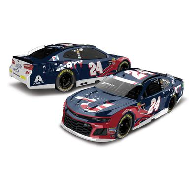 Hendrick Motorsports William Byron 2018 NASCAR No. 24 Liberty University Patriotic ELITE 1:24 Die-Cast