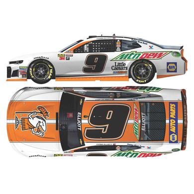 Hendrick Motorsports Chase Elliott 2018 NASCAR No. 9 Mountain Dew / Little Caesars ELITE 1:24 Die-Cast
