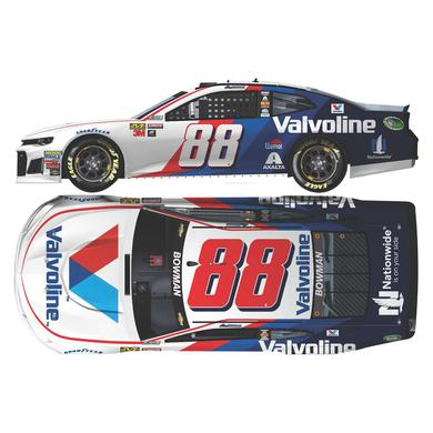 Hendrick Motorsports Alex Bowman 2018 NASCAR No. 88 Valvoline HO 1:24 Die-Cast