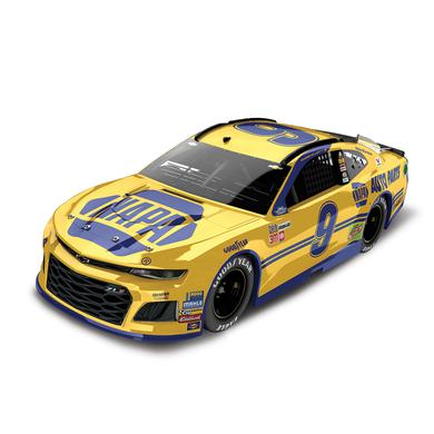 Hendrick Motorsports Chase Elliott 2018 NASCAR No. 9 NAPA Throwback Darlington ELITE 1:24 Die-Cast
