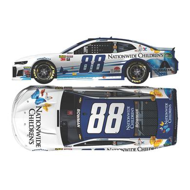 Hendrick Motorsports Alex Bowman 2018 NASCAR No. 88 Nationwide Children's Hospital 1:64 Die-Cast