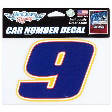Hendrick Motorsports Chase Elliott #9 2018 NASCAR Car Number Decal