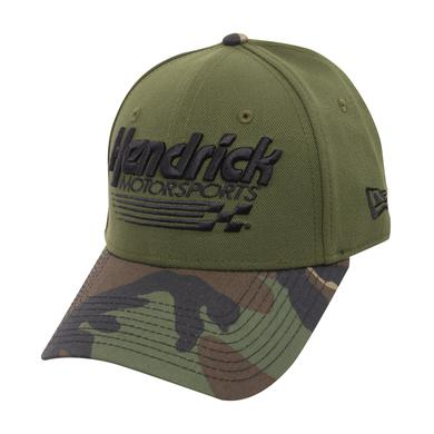 Hendrick Motorsports New Era 9FORTY Camo Adjustable Hat