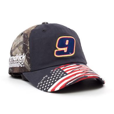 Hendrick Motorsports Chase Elliott 2018 #9 TrueTimber Patriotic Hat