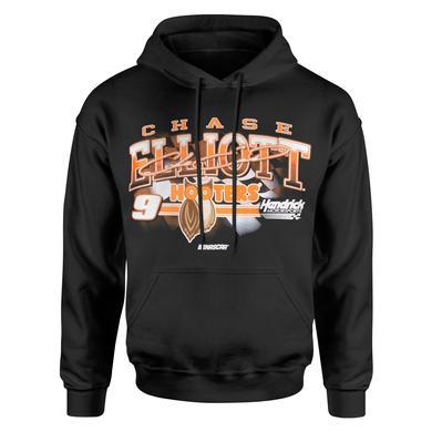 Hendrick Motorsports Chase Elliott 2018 #9 Hooters Vintage 1-spot Hoodie