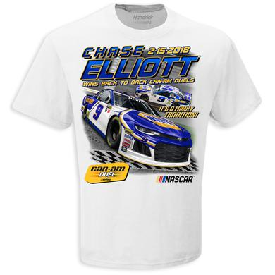 Hendrick Motorsports Chase Elliott 2018 Daytona Duel 2 Win T-shirt